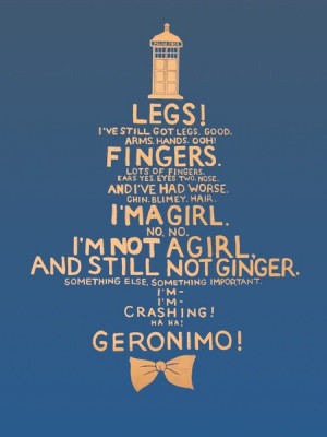 Famous Doctor Who Quotes And Stuff