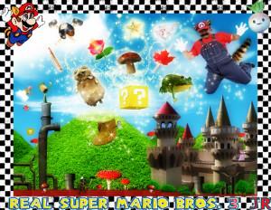 Super Mario Bros Vida Real...