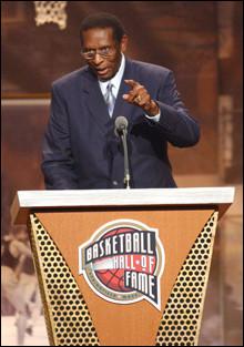Earl Lloyd, Hall of Fame