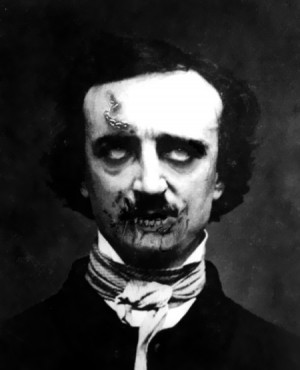Edgar Allan Poe Zombie by Zombies-616