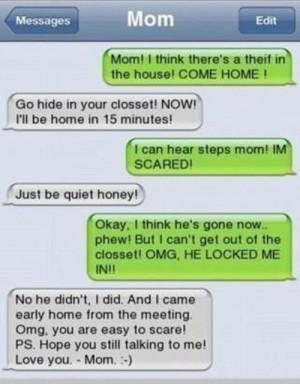 Mom i'm so scared...!!