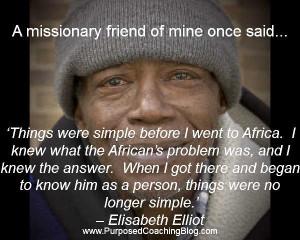 World Evangelism Quote – Africa