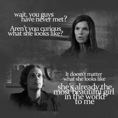 spencer reid quotes maeve donovan - Google Search More