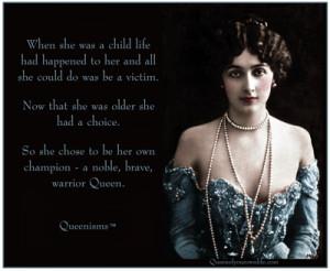 Champion Your Warrior Queen – Queenisms