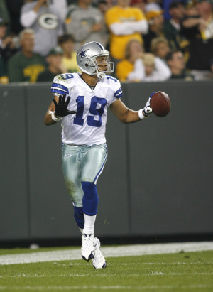That's right, WR Miles Austin