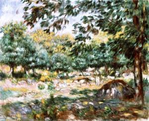Image: Pierre-Auguste Renoir - Treboul near Douarnenez