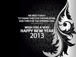 Wallpaper: 2013 new year friendship quotes HD wallpaper