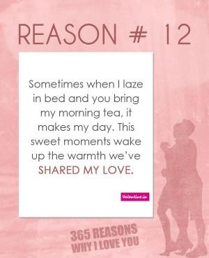 Reasons Why I Love You #12