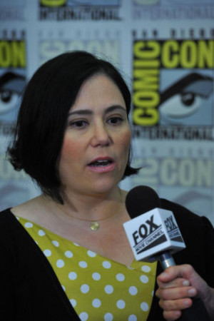 Alex Borstein, voice of Lois Griffin on Family Guy , is interviewed at ...