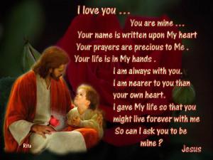 Christianity Jesus Quotes