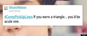 Funny Pick-Up Lines: Young Tweeters Share #CornyPickUpLines