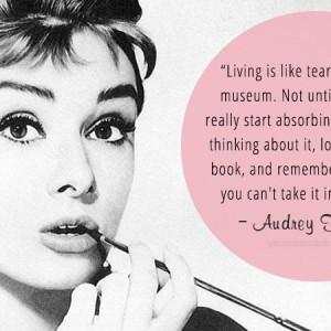 Audrey Hepburn Fashion Quotes Audrey hepburn.