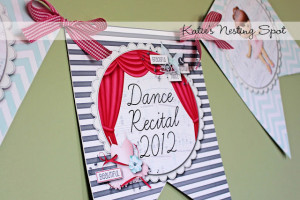 Dance Recital Luncheon Decorations: A Twinkle Toes Party