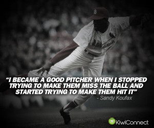 great quote for all of you up-and-coming pitchers! #Pitching #Baseball ...