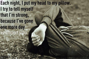 Sleeping Alone Quotes