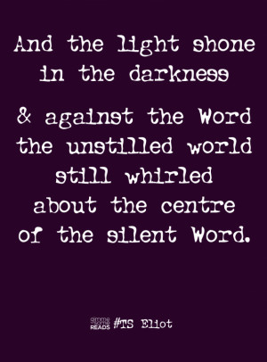 Ash Wednesday with TS Eliot