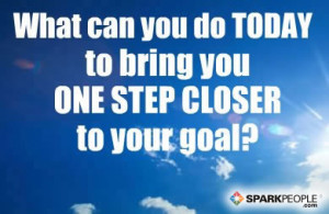 Motivational Quote - What can you do today to bring you ONE STEP ...