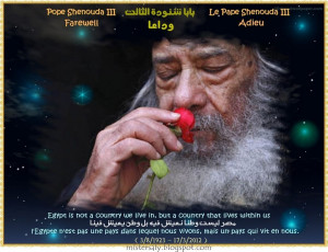 Pope+Shenouda+III+Pope+of+Alexandria++(3+August+1923+-+17+March+2012 ...