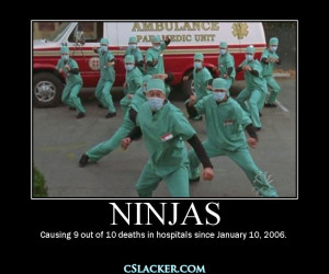 Ambulance paramedic unit ninjas