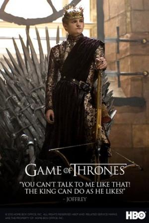 joffrey baratheon got -poster
