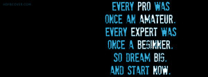 Inspiration quote timeline cover photo is customized for your timeline ...