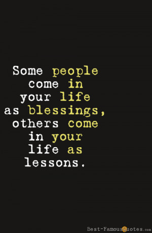 People In Your Life Quotes