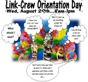 Link Crew Orientation Day