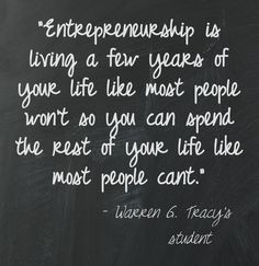 Favorite quote our small business owners live by - Wilson, lf Small ...