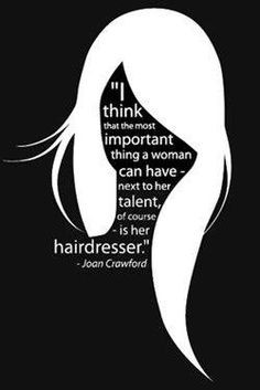 quotes hairdressers quotes crawford hair quotes hair stylists quotes ...