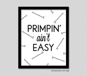girly bathroom decor, funny wall art, funny print, funny quote, vanity ...