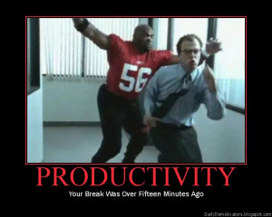 productivity demotivational posters