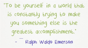 Beautiful Quotes About Being Yourself