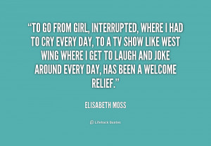 Girl Interrupted Quote. Related Images