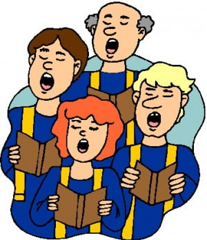 free clipart of choir singing image search results