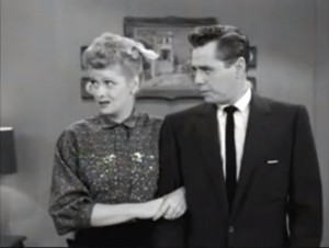 Fred and Ethel Fight - Lucy and Ricky