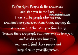 quotes about people who lie people will lie and stab
