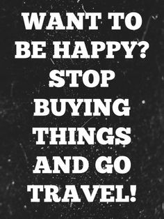 tell the kids this all of the time...I'd rather spend money on ...