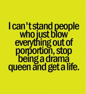 Stop the Drama!!