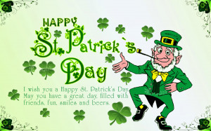 St. Patrick's Day Quotes and Irish Sayings with Wishes Wallpapers