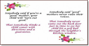 Enjoy Your Special Day Moms and Be SURE to Love Yourself Enough to ...