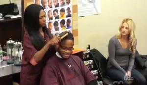 black barber