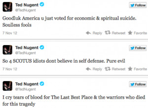 Ted Nugent on Election: Rocker Laments