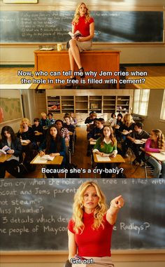 ... . This is my new style. Teaching style. bad teacher movie quotes