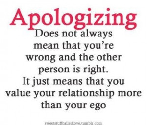 Value your relationships more than your EGO ~ Quotes to contemplate