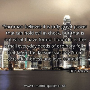 saruman-believes-it-is-only-great-power-that-can-hold-evil-in-check ...