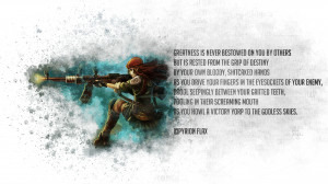 anime texts quotes weapon weapons gun guns girl wallpaper background