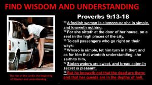 FIND WISDOM AND UNDERSTANDING