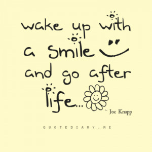 Wake up with good mood