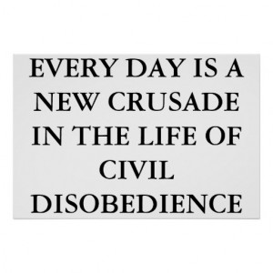 Civil Disobedience Posters & Prints