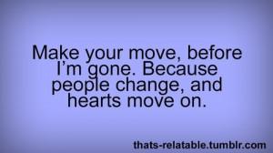 Relationships Change